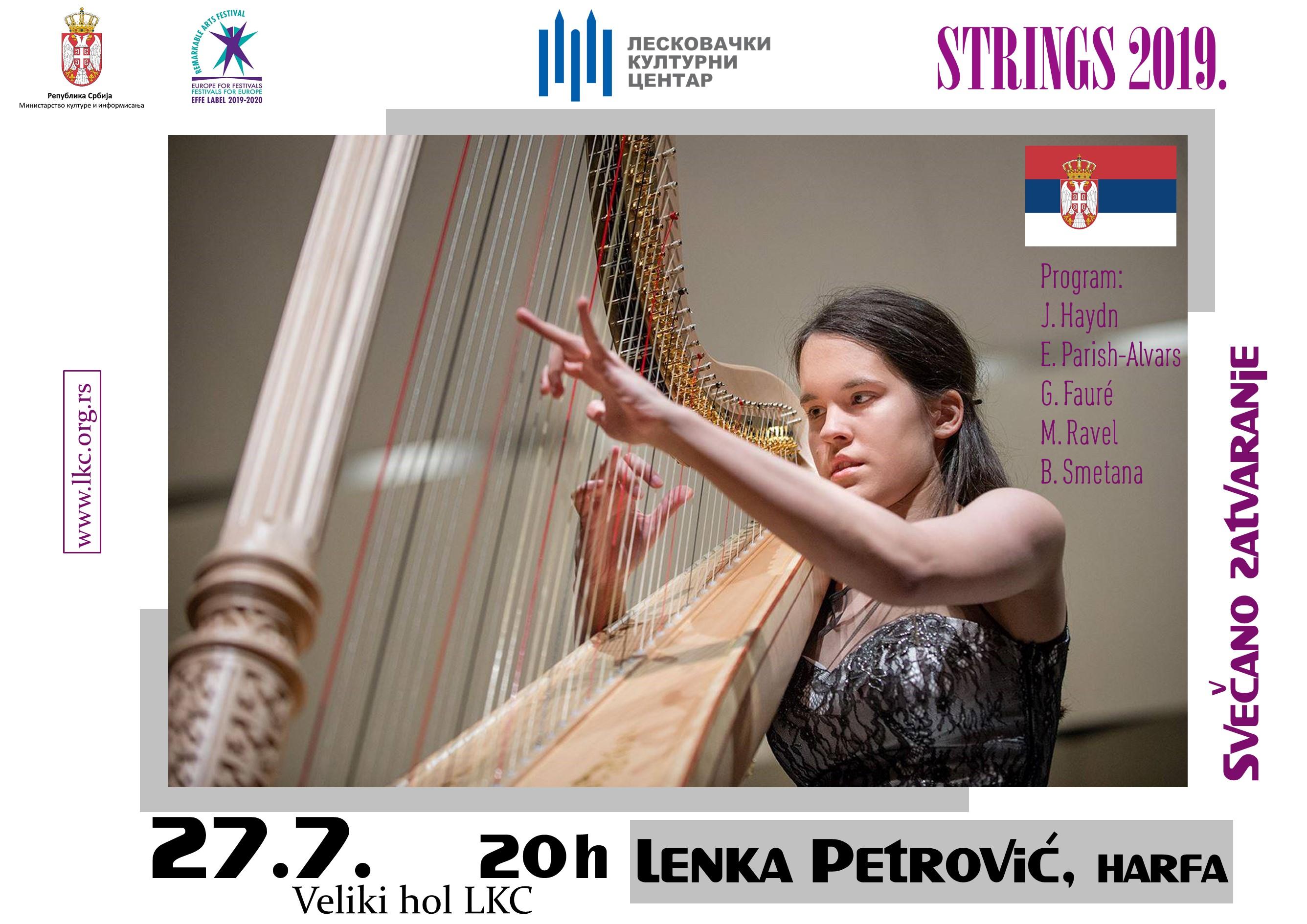 15. Lenka Petrovic, harfa B2-1