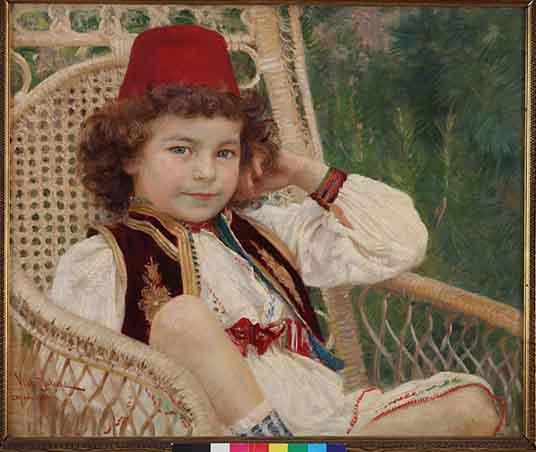 vlaho-bukovac-portret-mila-bravacica